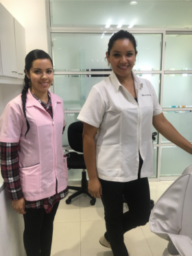 Dentist and assistant at Dr. Hector Haro's dental office, Riberas del Pilar, near Ajijic, Mexico – Best Places In The World To Retire – International Living
