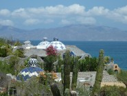 Domed roofs of Ventana Bay Resort, La Ventana Bay, Baja California Sur, Mexico – Best Places In The World To Retire – International Living