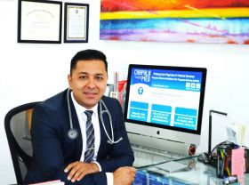 Dr. Santiago Hernandez in his office Chapala Med in Chapala, Mexico – Best Places In The World To Retire – International Living