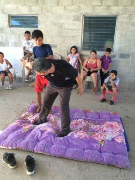 Eddy Marin-Ruiz teaching martial arts to neighborhood kids – Best Places In The World To Retire – International Living