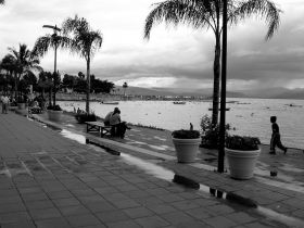 El Malcon, or the boardwalk after a rain at Lake Chapala, Mexico – Best Places In The World To Retire – International Living
