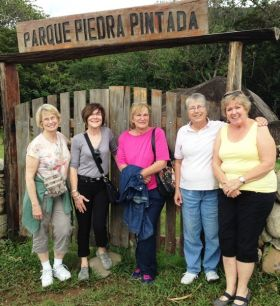 Penny Barrett in Boquete with friends from elementary school  – Best Places In The World To Retire – International Living