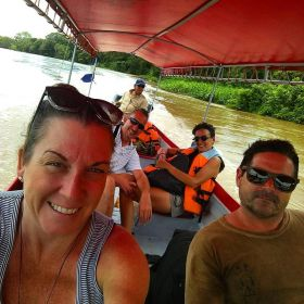Elisha MacCay taking a water taxi, Nicaragua – Best Places In The World To Retire – International Living