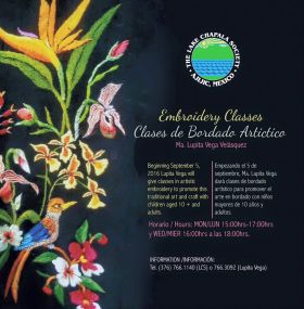 Embroidery classes offered at the Lake Chapala Society, Ajijic, Mexico – Best Places In The World To Retire – International Living