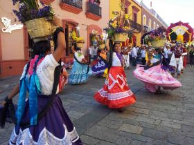 Folkloric dancing in  street, Oaxaca, Mexico – Best Places In The World To Retire – International Living