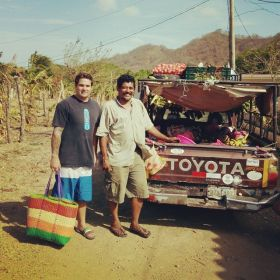 Fruits and vegtables delivered to MacKay's door, San Juan del Sur, Mexico – Best Places In The World To Retire – International Living
