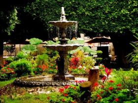 Garden fountain in Mexico – Best Places In The World To Retire – International Living