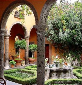 Garden in San Miguel de Allende, Mexico – Best Places In The World To Retire – International Living