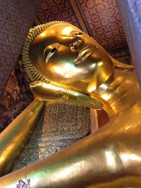 Reclining golden Buddha in Thailand – Best Places In The World To Retire – International Living