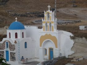 Greek Orthodox church in Santorini, Greece – Best Places In The World To Retire – International Living
