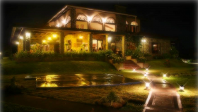 Hacienda Los Molinas hotel at night, Chiriqui, Panama – Best Places In The World To Retire – International Living