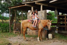 Horseback riding available at Hacienda Los Molinos, near Boquete, Chiriqui, Panama – Best Places In The World To Retire – International Living