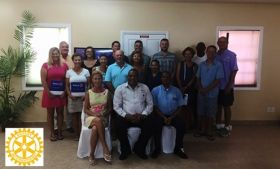 Inaguation of the Rotary Club of Belize – Best Places In The World To Retire – International Living