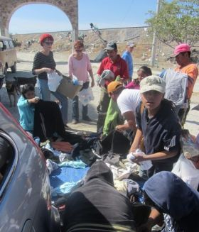 Ivy Del Pozzo sharing Christmas with the people who live at the dump, San Miguel de Allende, Mexico – Best Places In The World To Retire – International Living