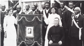 Jesuit Fr. Lynam with Catholic Knights of Belize c. 1910 – Best Places In The World To Retire – International Living