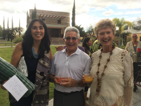 Jet Metier, Mary Agnes McKay and friend at an anniversary party, San Miguel de Allende, Mexico – Best Places In The World To Retire – International Living