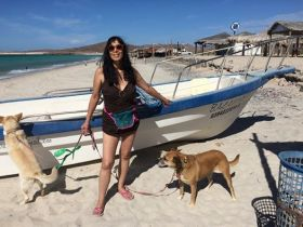 Jet at beach before meeting woman at the pemex – Best Places In The World To Retire – International Living