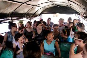 Students in bus, Granada, Nicaragua – Best Places In The World To Retire – International Living