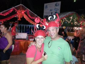 Lobster caps on Lobster Fest participants in Ambergris Caye, Belize – Best Places In The World To Retire – International Living