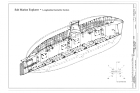 Longitudinal crosssection of the submarine Exlorer found in Las Perlas Islands, Panama – Best Places In The World To Retire – International Living