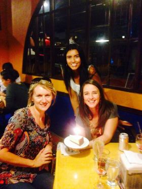 Megan  Gilbert celebrating with her friends, Boquete, Panama – Best Places In The World To Retire – International Living