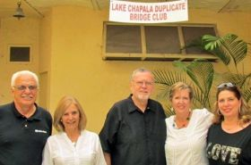 Members of the Lake Chapala Duplicate Bridge Club at a charity event, Ajijic, Mexico – Best Places In The World To Retire – International Living