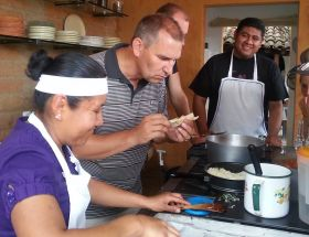 Modern kitchen used in a cooking class in Oaxaca, Mexico – Best Places In The World To Retire – International Living