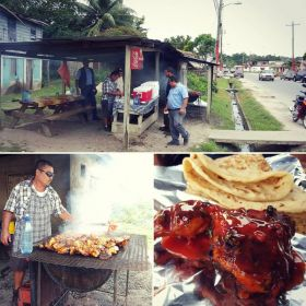 Mr. Rodgriquez's barbecue chicken roadside stand, Cayo, Belize – Best Places In The World To Retire – International Living