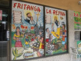 Mural on a Nicaragua restuarant – Best Places In The World To Retire – International Living