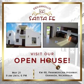 Notice for an open house for Casa Granada Properties, Granada, Nicaragua – Best Places In The World To Retire – International Living
