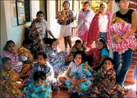 Orphans wrap themselves in donated blankets, Mazatlan, Mexico – Best Places In The World To Retire – International Living