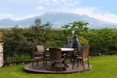 Outdoor dining at Hacienda Los Molinos, Alto Boquete, Panama – Best Places In The World To Retire – International Living