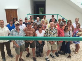 Owners at the opening of their building units, Grand Baymen, Ambergris Caye, Belize – Best Places In The World To Retire – International Living