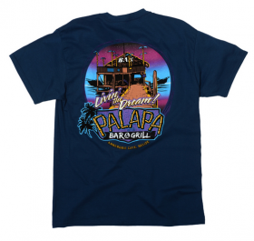 Palapa Bar and Grill tshirt, Ambergris Caye, Belize – Best Places In The World To Retire – International Living