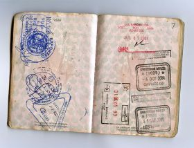 Passport with Belize stamp – Best Places In The World To Retire – International Living