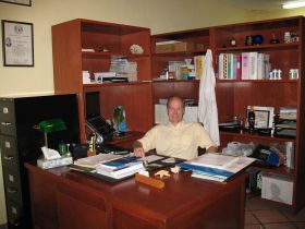 Peter F. Gordon MD in his first Puerto Vallarta medical office, Puerto Vallarta, Mexico – Best Places In The World To Retire – International Living
