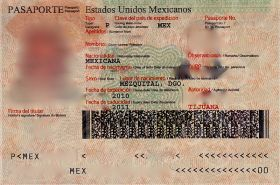 Photo page of a Mexican passport – Best Places In The World To Retire – International Living