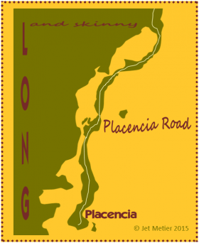 Placencia road map by Jet Metier – Best Places In The World To Retire – International Living