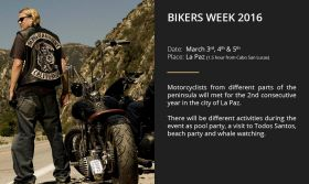 Poster for Biker's Weekend, Baja California Sur, Mexico  – Best Places In The World To Retire – International Living