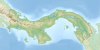 Relief map of Panama – Best Places In The World To Retire – International Living
