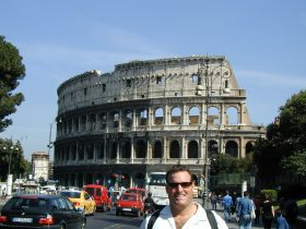 Ross at the Colosseum in Rome, Italy – Best Places In The World To Retire – International Living