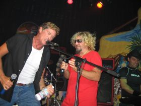 Sammy Hagar performing at his cantina Cabo Wabo with David Hasselhoff in Cabos San Lucas, Mexico – Best Places In The World To Retire – International Living