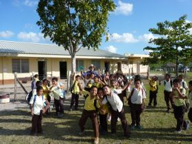 School kids from August Pine Ridge, Belize – Best Places In The World To Retire – International Living