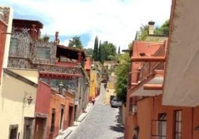Steep streets of San Miguel Allende, Mexico – Best Places In The World To Retire – International Living