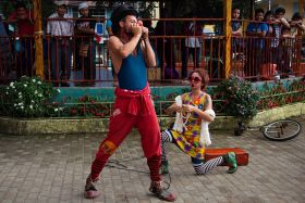 street performers in Boquete, Panama – Best Places In The World To Retire – International Living