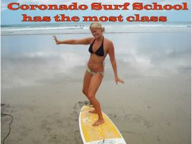 Surfing lessons available at Coronado Surf School – Best Places In The World To Retire – International Living