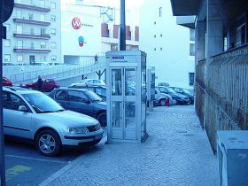 Telephone booth in Lisbon, Portugal – Best Places In The World To Retire – International Living