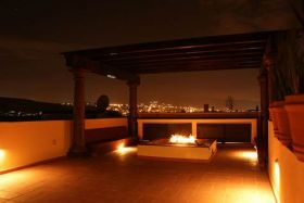 Terrace at night, Ventanas de San Miguel de Allende, Mexico – Best Places In The World To Retire – International Living