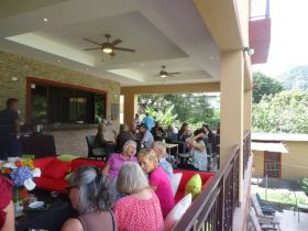 Terrace of Casa de Montana, Boquete, Panama – Best Places In The World To Retire – International Living