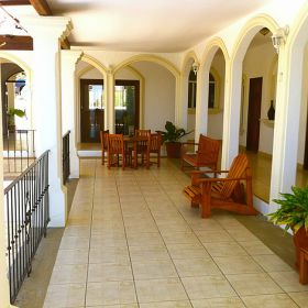 Terrace on a colonial style home, Nicaragua – Best Places In The World To Retire – International Living